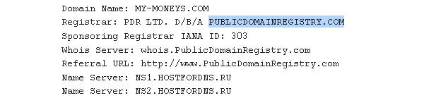 my-moneys данные домена
